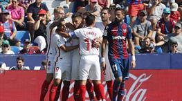 Sevilla Levante'ye patladı: 6-2 (ÖZET)
