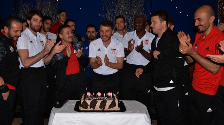 Sivasspor'da çifte kutlama