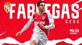 Fabregas Monaco'ya transfer oldu