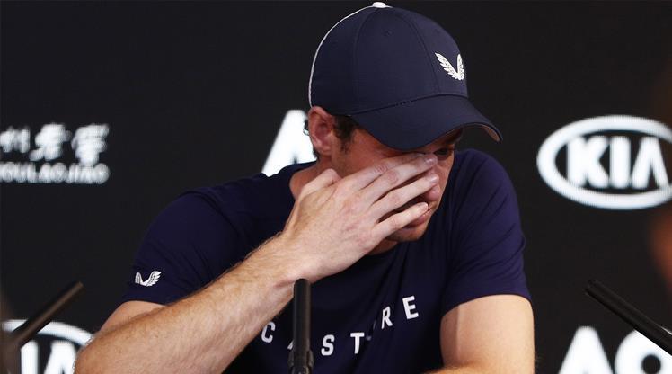 Murray gözyaşları içinde veda etti!