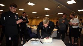 Beşiktaş'ta doğum günü kutlaması