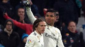 Real Madrid sonradan açıldı (ÖZET)