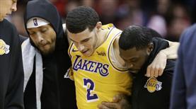 Lakers'a Lonzo Ball'dan kötü haber