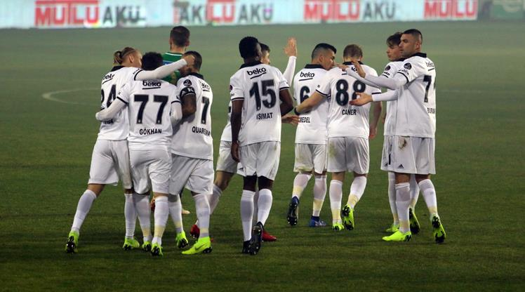 Beşiktaş hükmen galip