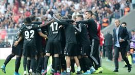 İşte Beşiktaş - Aytemiz Alanyaspor maçının özeti