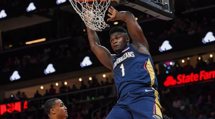 Zion'un NBA macerası başladı