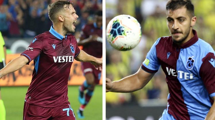 Trabzonspor'dan Hosseini ve Novak açıklaması