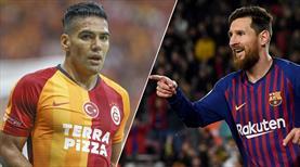 Messi'den Falcao'ya övgü dolu sözler