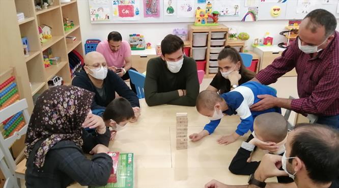 Umut Nayir'den anlamlı ziyaret