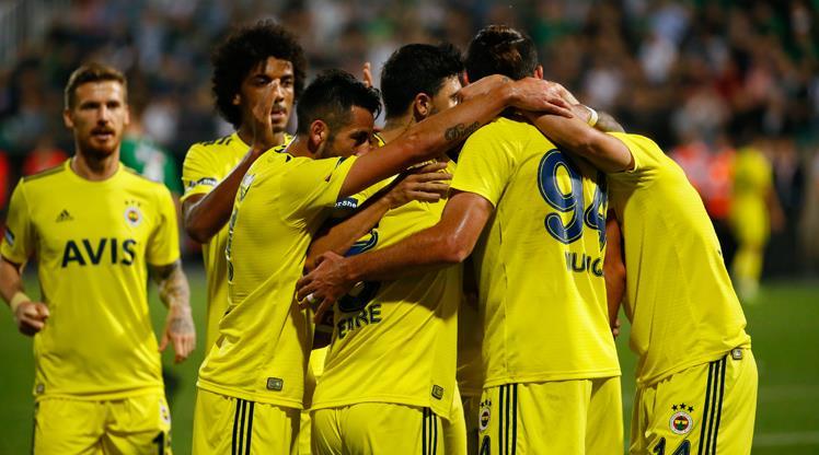 Yukatel Denizlispor - Fenerbahçe: 1-2 (ÖZET)