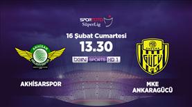 Akhisarspor - MKE Ankaragücü