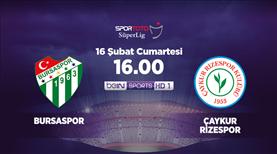 Bursasspor - Çaykur Rizespor