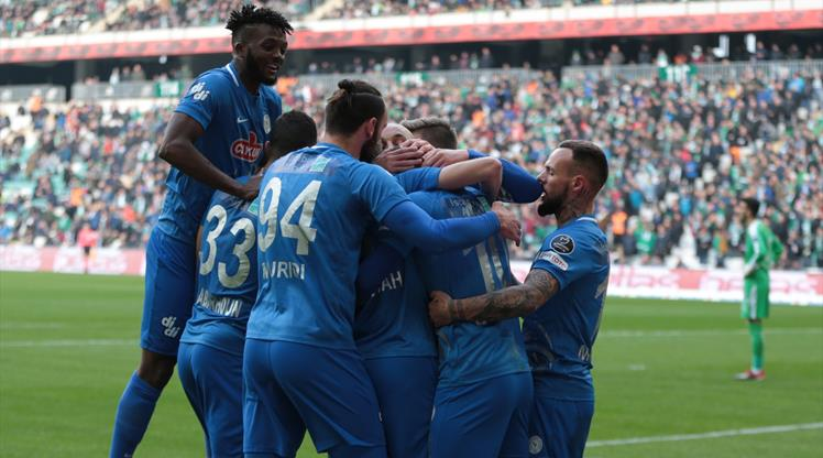 Bursaspor - Çaykur Rizespor: 0-2