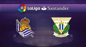 Real Sociedad - Leganes (CANLI)
