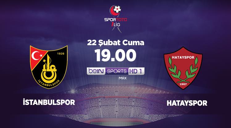 İstanbulspor - Hatayspor (CANLI)