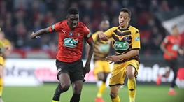 Rennes yarı final biletini kaptı (ÖZET)