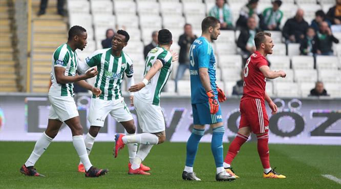 Bursaspor'un hasretini Shehu bitirdi!