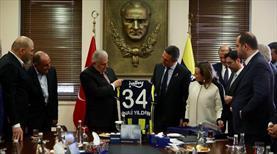 Yıldırım'dan Fenerbahçe'ye ziyaret