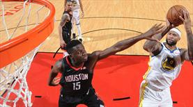Rockets'a Warriors 'dur' dedi!