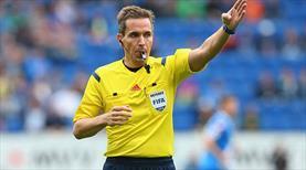 Arnavutluk maçına Alman hakem