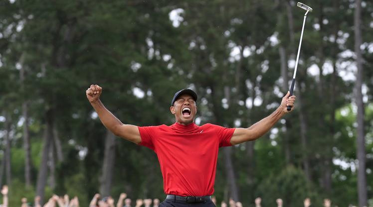 Tiger Woods'tan tarihi geri dönüş