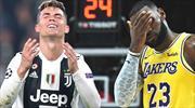 Ronaldo ve LeBron yıllar sonra ilk kez