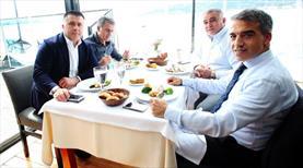Beşiktaş yemekte buluştu