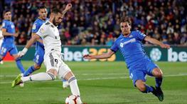 Real Madrid, Getafe'ye diş geçiremedi (ÖZET)