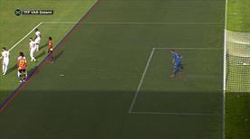 VAR golü iptal etti