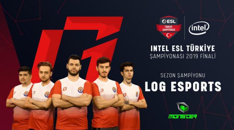 Intel ESL Türkiye Şampiyonu LOG Esports