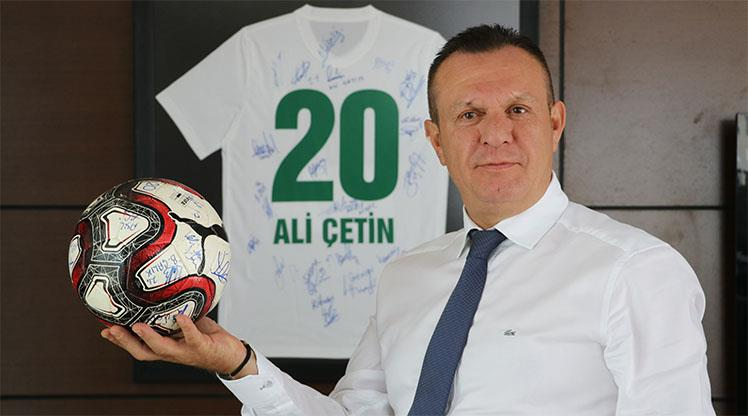 """Süper Lig'de hedefimiz ilk 5"""