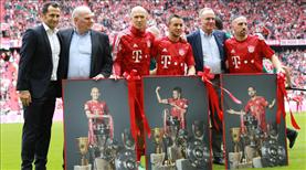 Bayern'den efsanelere veda