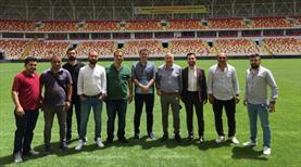 Yeni Malatya Stadı denetlendi