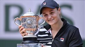 Roland Garros'ta şampiyon Barty