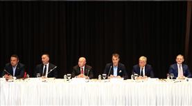 TFF ve Kulüpler Birliği Vakfı toplandı