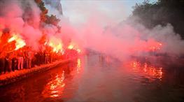Eskişehirspor'da görkemli kutlama