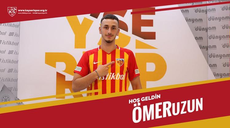 Gol kralından Kayseri'ye 5 yıllık imza