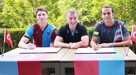 Trabzonspor'da imzalar atıldı