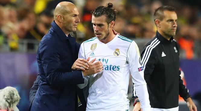 """Zidane'dan Bale savunması: """"Karar bana ait değil"""""""