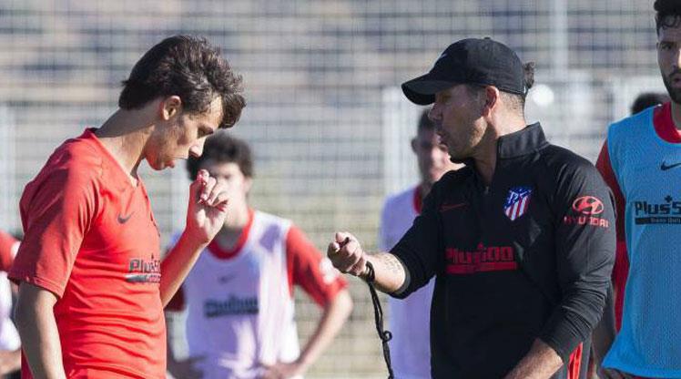 Simeone, 'Yeni Ronaldo' adına karşı