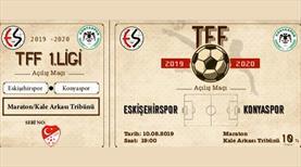 Eskişehirspor'dan nostaljik bilet