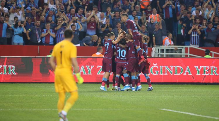 İşte Trabzonspor - Sparta Prag maçının özeti