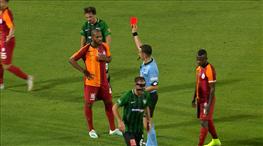 Galatasaray böyle 10 kişi kaldı