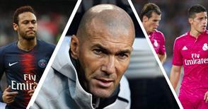 Zidane'dan Neymar, Bale ve Rodriguez sözleri