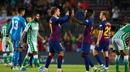 Griezmann siftah, Barça şov yaptı