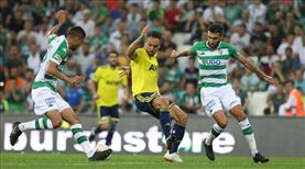 İşte Bursaspor - Fenerbahçe maçının özeti