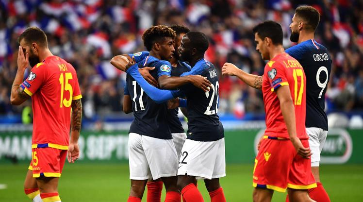 Fransa kendini yormadı