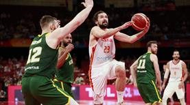 Nefes kesen maçta ilk finalist İspanya