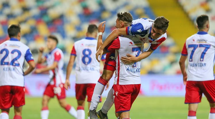 Altınordu-Eskişehirspor: 4-1 (ÖZET)