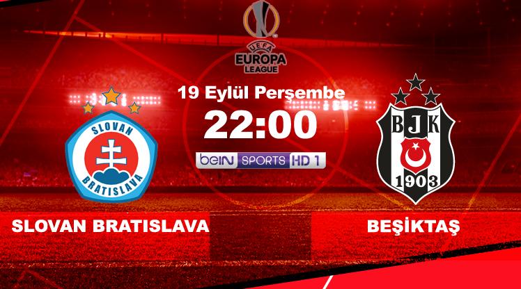 Slovan Bratislava - Beşiktaş (CANLI)